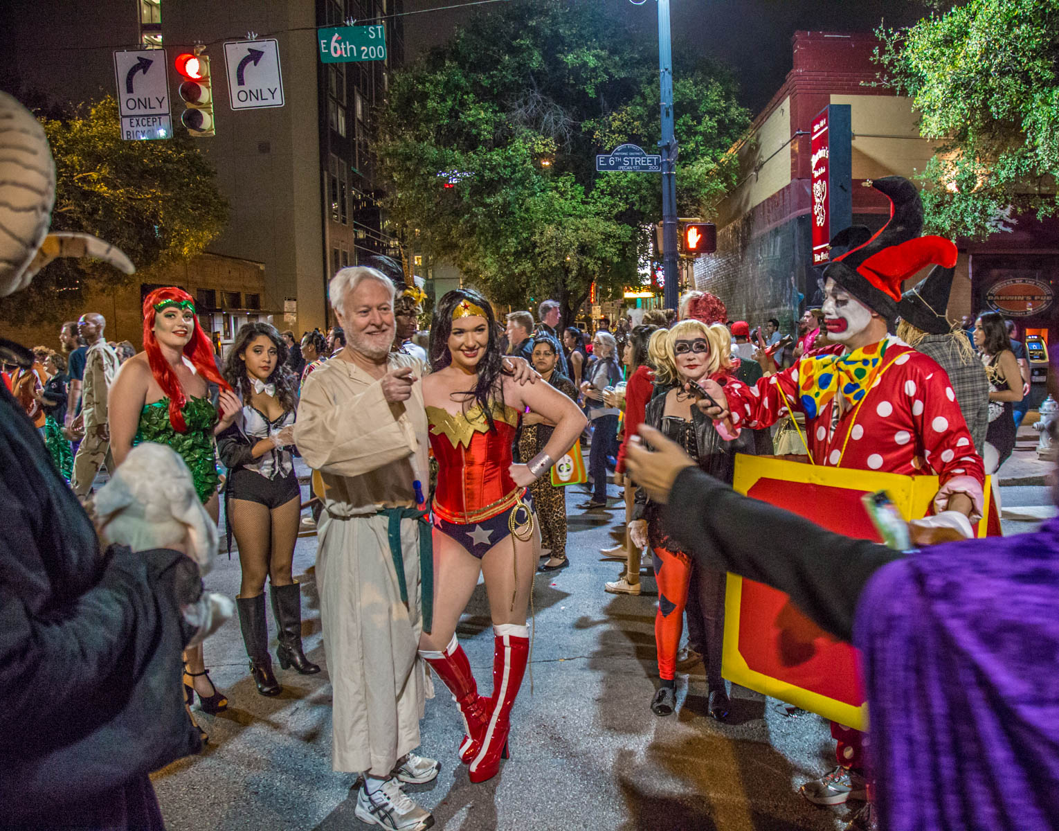 It's a packed house on East 6th for Halloween celebrations every October.