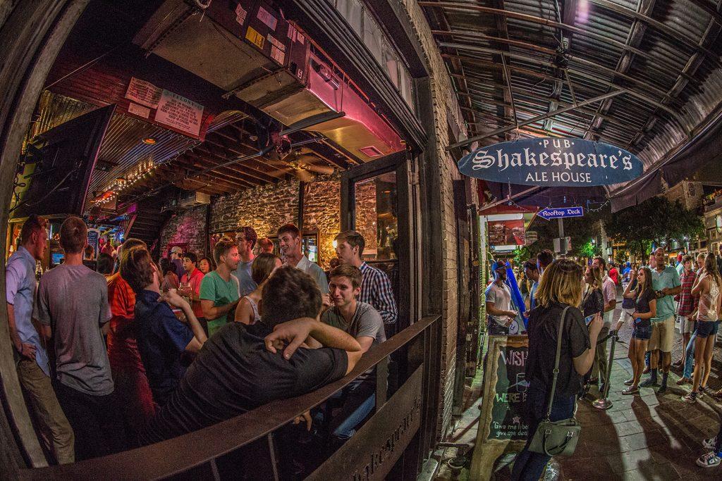 Shakespeare's Pub - 6th Street - Austin TX