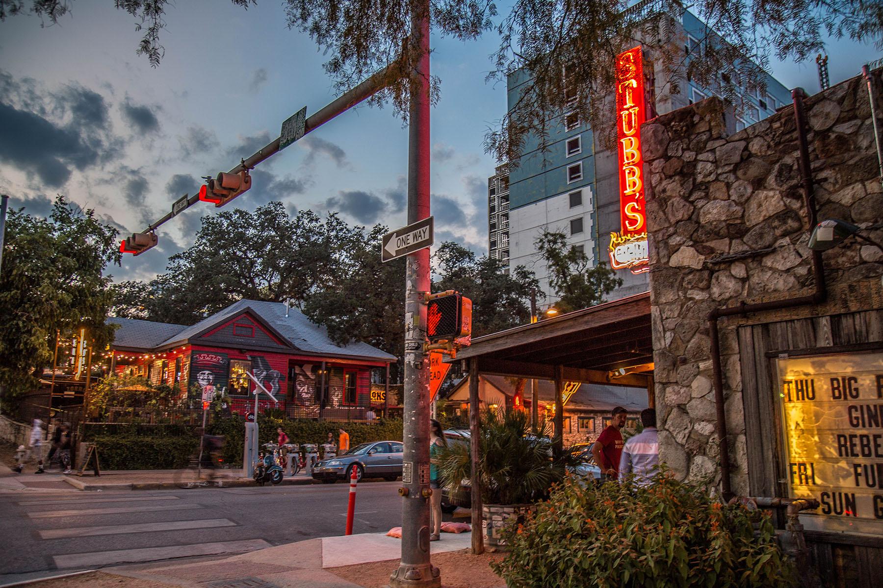 Austin's Red River Entertainment District