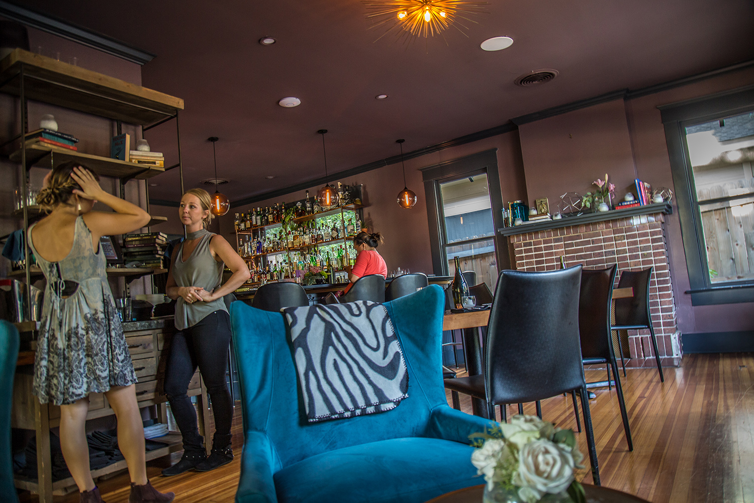 Nightcap is a great far West 6th Street upscale eatery